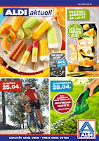 ALDI Actuell angebote prospekt April 2016