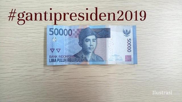Langgar Undang-Undang, Bank Indonesia akan musnahkan semua orang yang memiliki stempel 2019 ganti presiden
