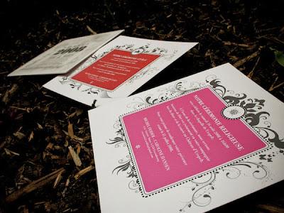 diseño de tarjeta elegante para bodas
