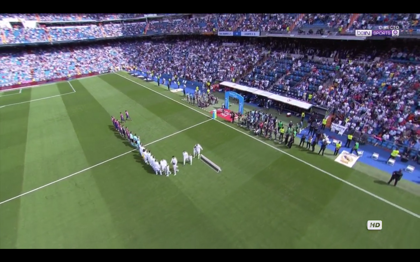 Real madrid tv real madrid 1 1 levante for Real madrid tv