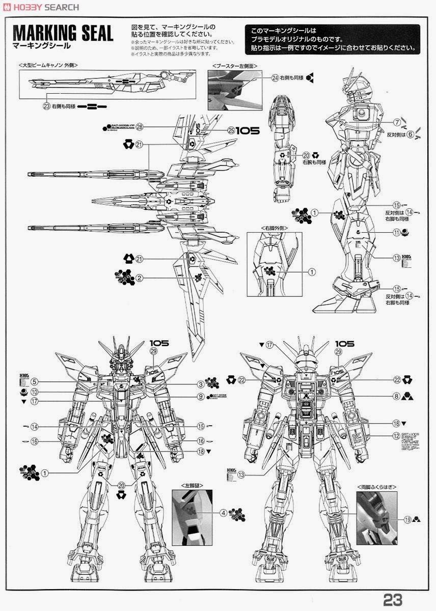 GUNDAM GUY: MG 1/100 Build Strike Gundam Full Package