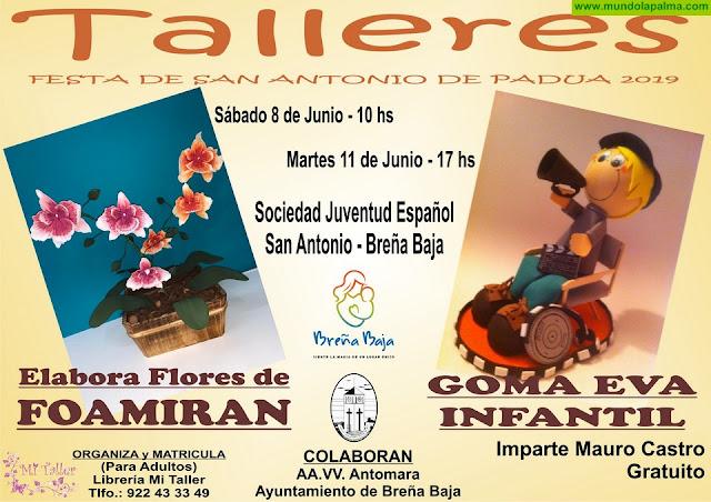 Fiesta de San Antonio de Padua: Talleres
