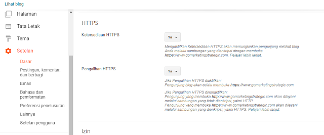 mMengaktifkan HTTPS Custom Domain di Blog