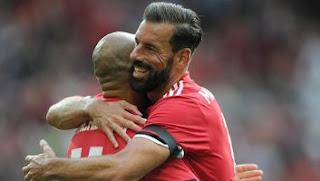Video Gol Legenda Manchester United vs Legeda Barcelona 2-2 Friendly Match