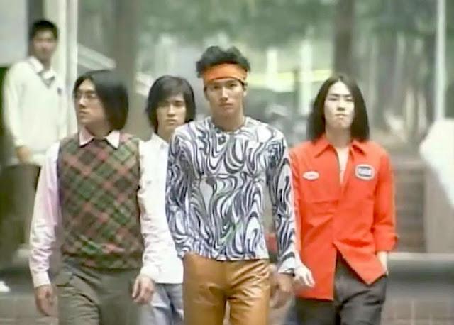F4 Jerry Yan, Vic Chou, Ken Chu, Vanness Wu