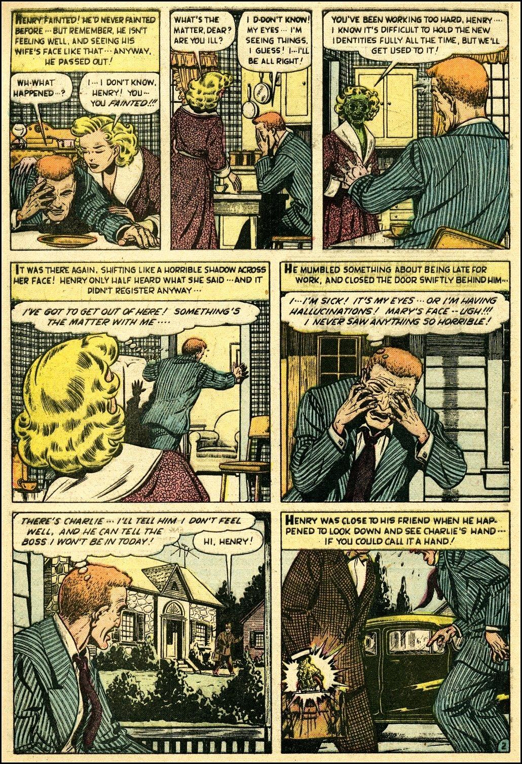 Read online Adventures into Weird Worlds comic -  Issue #25 - 3