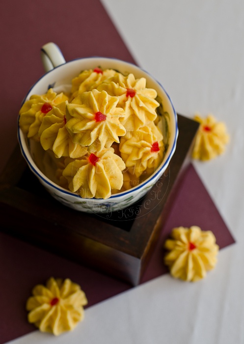 Samperit / Custard Cookies