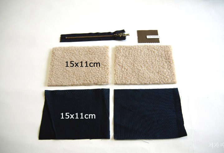 8441f53946f5 DIY Tutorial. The dimensions are approximately 10x14 cm. This gives enough  space for mascara