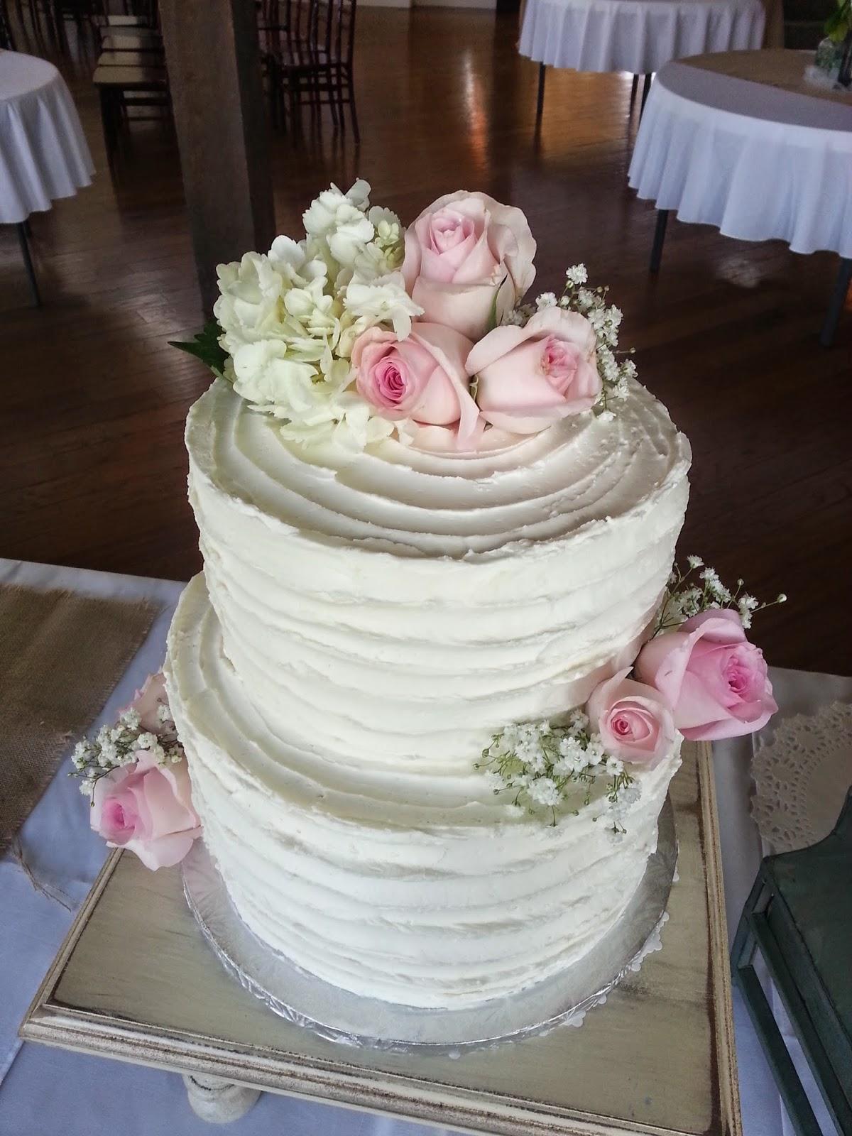 Sweet Bottom Cakes Textured Buttercream Wedding Cake