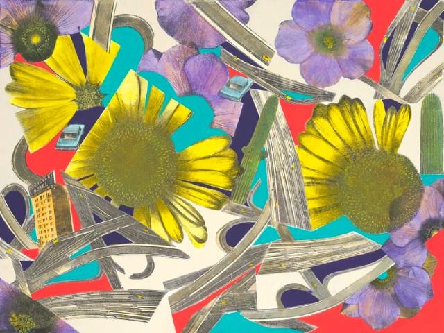 Коллажи и изобразительное искусство. Laurie Raskin 14