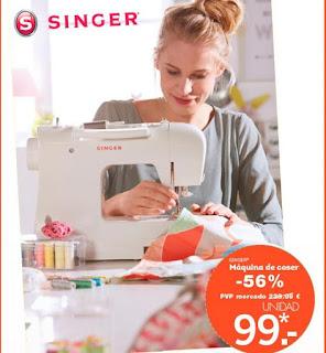 maquina de coser singer lidl agosto 2015