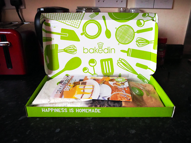 Bakedin Review: Sticky toffee drip cake!