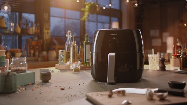 PHILIPS AIR FRYER XXL HD9630/99 With Twin TurboStar Technology