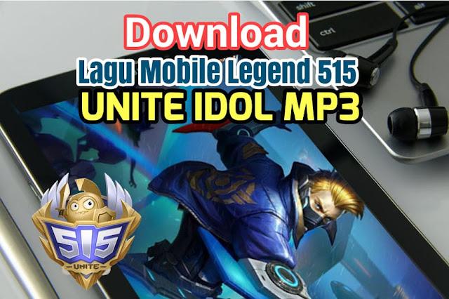 carabapak.com - lagu mobile legend 515 - Halo anak anaku dimanapun kamu berada. gimana kabarnya hari ini? semoga dalam keaadaan sehat selalu. Sudah bermain mobile legend hari ini? Ketka kamu memasuki loby/room kamu pasti mendengar lagu lagu ngebit yang mirip mirip dengan lagu k-pop kan ya. Nah kali ini bapak akan berbagi tentang lagu mobile legend 515 yang berjudul unite idol. Berikut pembahasan selengkapnya.    Mobile legend merupakan salah satu game yang populer di kalangan gamers online. Game nya ini memiliki misi yang cukup  sederhana. Kamu hanya harus mempertahankan basis kamu sendiri dan menyerang basis musuh. Dalam penyerangan ini kamu bisa mengalahkan musuh, dan menghancurkan turet atau towel lawan.      Walaupun demikian, dalam aplikasinnya tidak mudah karena lawan atau musuh juga akan melakukan hal yang sama. Sehingga kita akan berlomba dalam waktu dan kecepatan untuk menjadi yang terbaik. Sehingga bisa mengalahkan musuh musuh dengan strategi terbaik.    Mobile legend ini bermain secara tim dimana tim kamu dan tim lawan akan beradu strategi dan berlomba lomba untuk menghancurkan basis lawan. Ketika sedang berduel dan kehabisa life kit akan kembali bermain dalam waktu tertentu. Setiap kali kalah atau kehabisan life kita akan menunggu dalam waktu tertentu dan waktu tersebut akan terus bertambah jika kamu sering kehabisan life dalam bertarung melawan musuh.    Dengan keseruan tersebut, kamu bisa menghabiskan waktu hingga ber jam jam karena pertahanan lawan tidak bisa dikalahkan dengan mudah. Jika seandainya kamu berada pada tim yang egois dan tidak bisa bekerja sama, maka misi untuk menghancurkan basis lawan akan terasa berat dan bisa saja pertahanan tim kamu kebobolan.     Kenyamanan bermain game mobile legend ini bertambah ketika mobile legend memberikan soundtrack atau lagu dalam loby. kamu akan mendengarkan lagu seperti lagu k-pop yang ngebit gitu. Nah adapn lagu tersebut kamu bisa download pada link berikut ini.    Unite Idol Mobile legend [Download]    