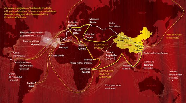 A NOVA ROTA DA SEDA CHINESA ESTÁ A ABRAÇAR A EUROPA