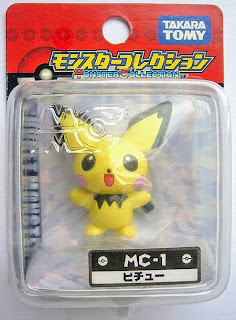 Pichu figure Takara Tomy Monster Collection MC series