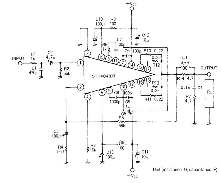 150W Audio Circuit Diagram ~ AmplifierCircuits.com