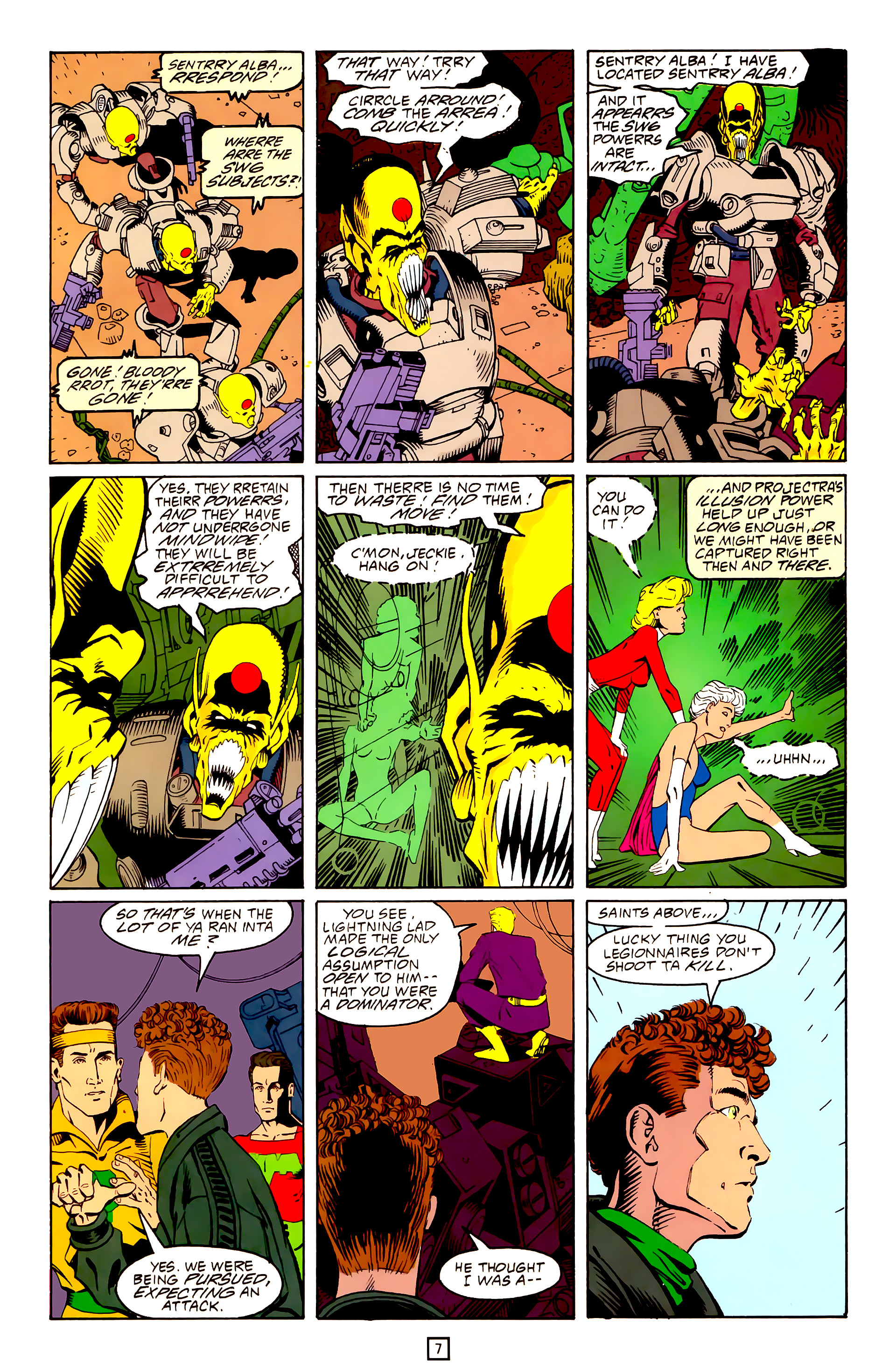 Legion of Super-Heroes (1989) 25 Page 7