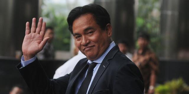 Yusril Tegaskan Ada di Luar TKN Jokowi-Ma'ruf