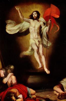 Postal: La resurrección del Señor, 1650-60 Academia de Bellas Artes de San Fernando. Editorial OFFO