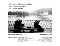 free ebook street photography