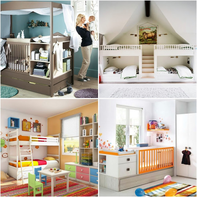 Elegant Children's Room Designs For Small Spaces