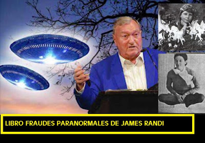 Fraudes Paranormales de James Randi libro gratis. Hadas? levitación? poderes paranormales? #Katecon2006