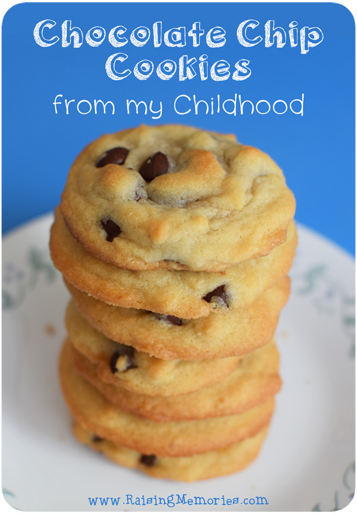 A Favourite Chocolate Chip Cookie Recipe by www.RaisingMemories.com