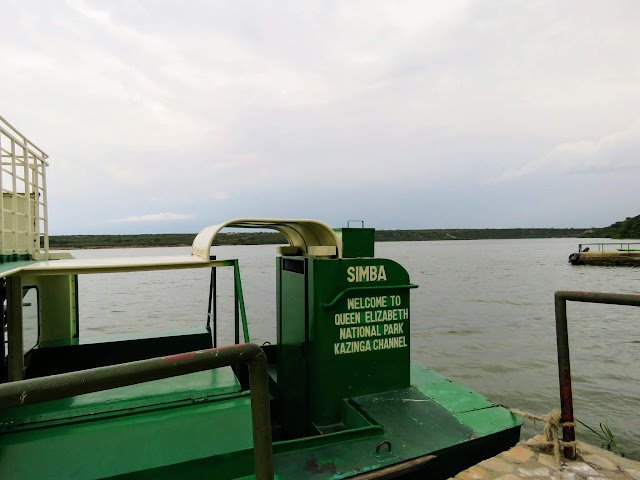 Simba boat cruise on the Kazinga Channel in Uganda