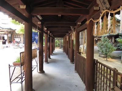 坐摩神社の摂末社