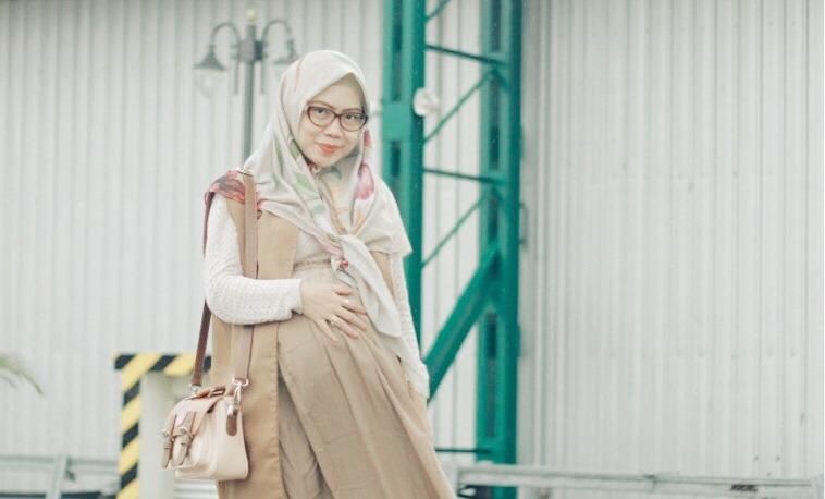 Hijab Bahan Voal Polos 64