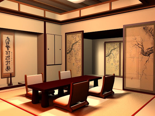 Japanese Style Home Interior Design