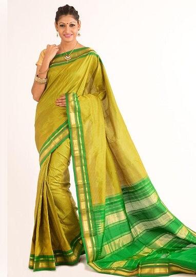Handwoven Silk Saree From Bangalore