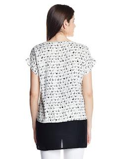 Rs. 659 W White Tunic by FashionDiya
