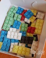 Kakkukoristeet, Lego, Sokerimassa, kakunkoriste, TopCake, sugarcraft, käsityö, cakedecorating