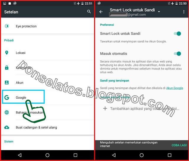 Cara mengaktifkan fitur Smart Lock Sandi di HP Android, menggunakan smart lock sandi, smart lock, sandi,