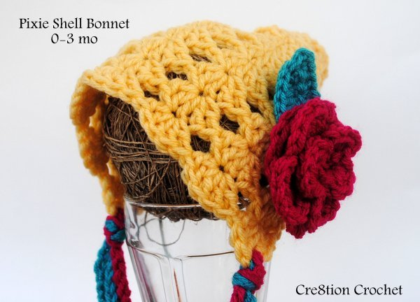 Fiber Flux Beautiful Baby Bonnets15 Free Crochet Patterns