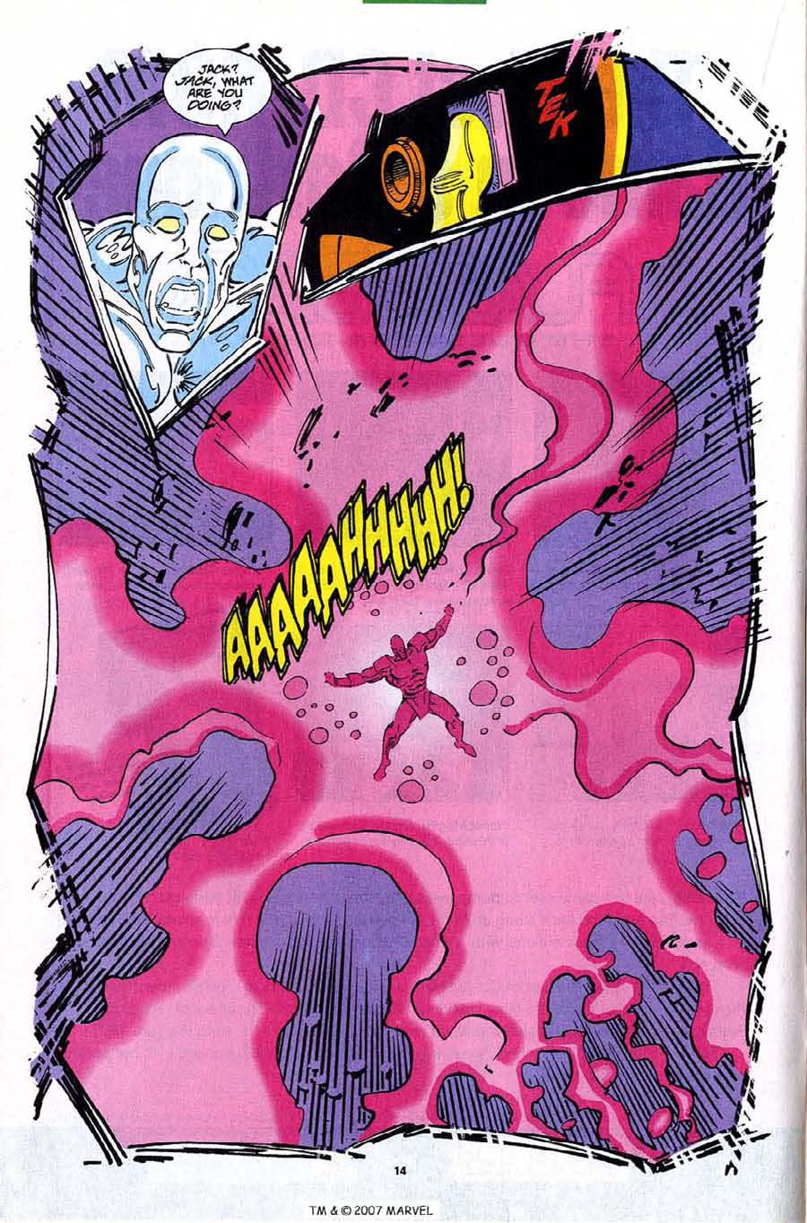 Read online Silver Surfer (1987) comic -  Issue #82 - 16
