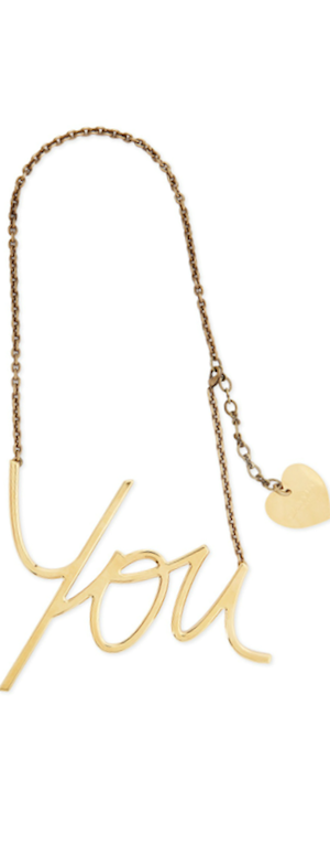 Lanvin Necklace YOU