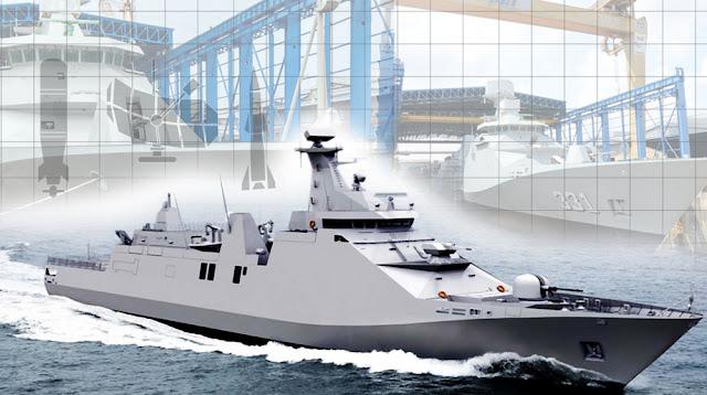 Kunjungi PT. PAL Kasal Tinjau Pembangunan Kapal Jenis Perusak Kawal Rudal