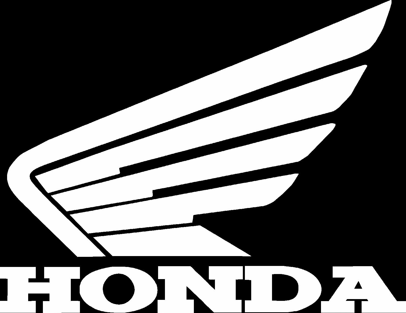 Logo honda white