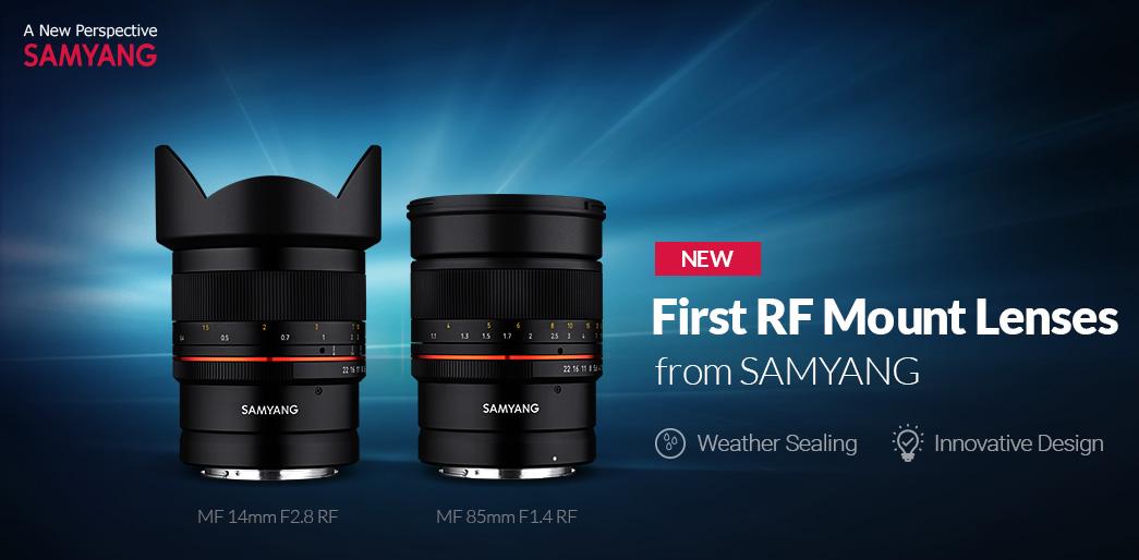 Рекламный тизер объективов Samyang MF 85mm f/1.4 RF и MF 14mm f/2.8 RF