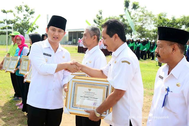 Wakil Bupati Nur Arifin Ajak Pelajar Jaga Kebersihan Lingkungan dan Aliran Sungai