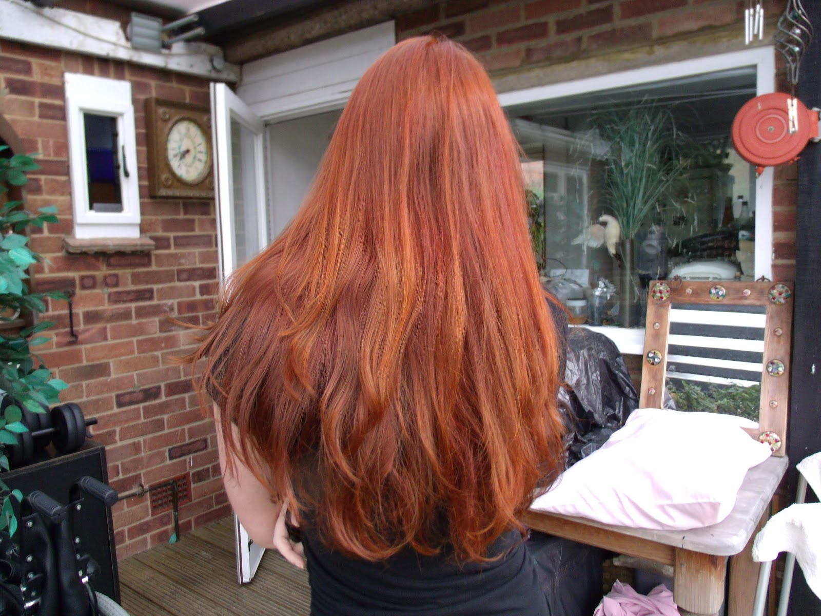 Lush Red Henna Hair Color Www Topsimages Com