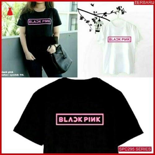 SPC295B32 Black Pink Terbaru Tee Atasan Wanita | BMGShop
