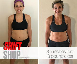 Shift Shop Female Results, Katy Ursta, One Fit FIghter Transformation, Beachbody Shift Shop Release, Shift Shop Launch Date, Chris Downing, Shift Shop Test Group