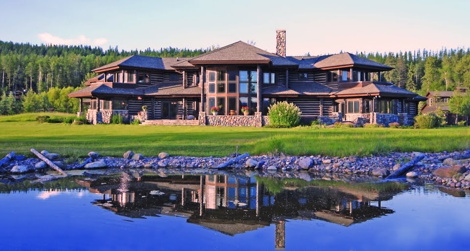 Luxury Log Cabin Homes Could This Be America S Finest Log