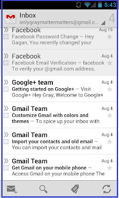 Android Gmail Application