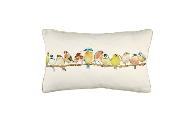 Laura Ashley Garden Birds Cushion
