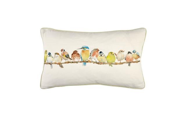 Laura Ashley Garden Birds Cushion